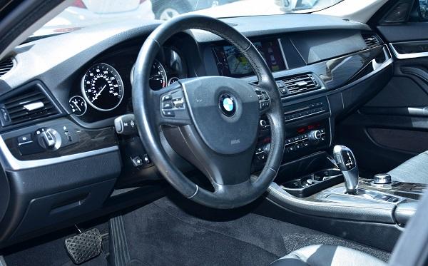2012 BMW 535i Black